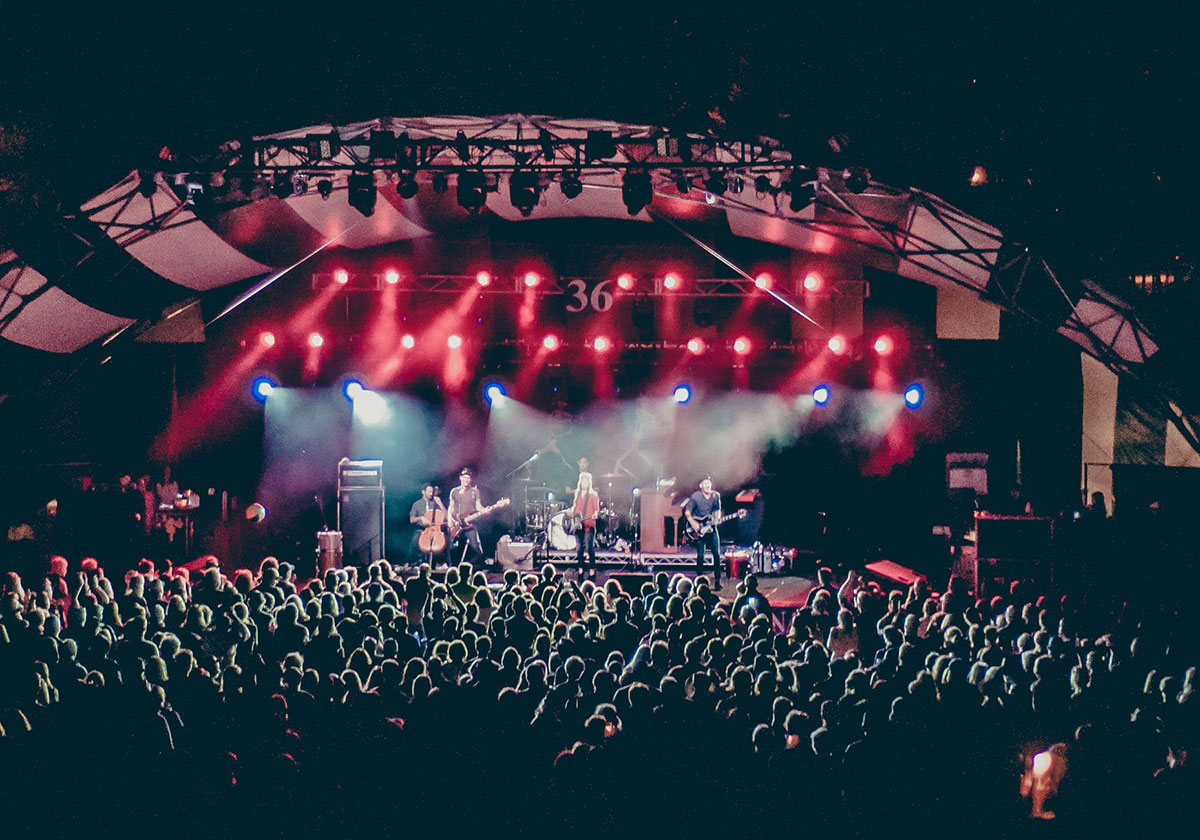 Venues such as Stadiums, Theaters, Clubs and Arenas