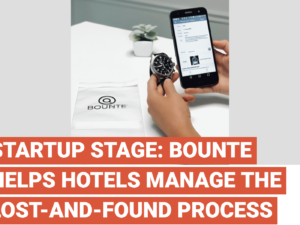 BOUNTE Helps Hotels Manage The Lost-And-Found Process